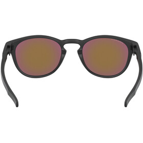 Oakley Latch Solbriller Herrer, matte black/prizm violet